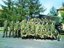 2007-08. żołnierze dywizjonu artylerii rakietowej 16 Pomorskiego Pułku Artylerii (JW3510) przy wyrzutni BM-21 Grad