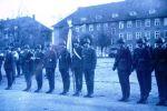 1979-1982. Żołnierze JW.2185 tj. 4 Okręgowego Ośrodka Specjalistów Służby Czołgowej, podczas uroczystości w jednostce. Zdjęcie Krzysztof Zakrzewski