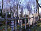 kwatera Batalionu Zośka na Wojskowym Cmentarzu na Powązkach