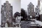 Gdyby Brama Młyńska lub Brama Kotlarska przetrwały próbę czasu może wyglądałaby tak jak zbudowana w 1330 r. Brama Kamienna w Pasłęku. Była to jedna z trzech bram miejskich i główna brama wjazdowa na teren Starego Miasta, zwana też Wysoką Wieżą. Brama przyozdobiona jest ostrołucznymi blendami, czyli płytkimi wnękami w murze w formie okna. Bramę wieńczy trójdzielny szczyt ozdobiony sterczynami. W otworze bramowym umieszczona była krata dębowa, a przed nią znajdował się zwodzony most.  Zdjęcia z przełomu XIX/XX w.