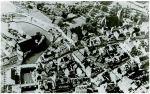 Zdjęcie lotnicze Braniewa z okresu międzywojennego. Widoczne mosty: Młyński i Kotlarski nie zmieniły swojego położenia przez wieki. Do czasów współczesnych przetrwał tylko ten pierwszy. Na ich zachodniej stronie, czyli lewym brzegu Pasłęki znajdowały się Bramy: Młyńska i Kotlarska – rozebrane w XIX wieku.
