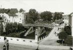 Widok na fragment Mostu Młyńskiego i Most Kotlarski. Lata ok. 1930-40