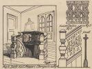 """Wnętrze kamienicy Oestreicha przy Langgasse 55. Kamienica była jedną z atrakcji Braniewa, m.in. ze względu na widoczną klatkę schodową w stylu """"gdańskim"""""""