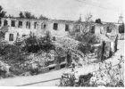 Kamienica przy Langgasse nr 55 zniszczona podczas działań wojennych w 1945 r.