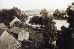 widok z kościoła ewangelickiego w Starej Pasłęce