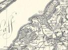 Fragment mapy Friedricha Leopolda von Schroettera z lat 1976-1802. Na mapie Neu i Alt Passarge oraz Pfahl Bude (pisane rozdzielnie)