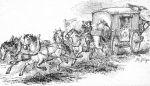 """brandenburska poczta w połowie XVII w. a więc z okresu potopu i """"Czarnych chmur""""…"""