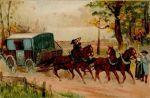W 1646 r.  brandenburski Wielki Elektor Friedrich Wilhelm był pierwszym niemieckim księciem, który zrezygnował z usług prywatnej poczty Taxis i założył własną pocztę konną.