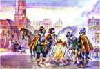 Szwedzi spalili przedmieście Koźlin w dniu 10.06.1626r. a podczas okupacji w latach 1626-1635 przyczynili się do co najmniej jednego dużego pożaru.