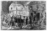 tak to mogło wyglądać w Braniewie…. Ta ilustracja z 1776 r. doskonale ukazuje ile się działo podczas dużego pożaru. Trwa ewakuacja mieszkańców, często dzieci znajdujących się na wyższych kondygnacjach. Jednocześnie przy pomocy ręcznej sikawki i wiader mężczyźni usiłują gasić rozwijający się pożar