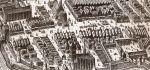 fragment planu Stertzla z 1635 r. na którym na ulicy Langgasse (obecnie Gdańska) widać co najmniej 3 studnie publiczne. Takich studni było w mieście kilkanaście i zasilane były drewnianym wodociągiem transportującym wodę ze strumienia Czerwony Rów. Woda ze studni służyła mieszkańcom w codziennym życiu do celów spożywczych i higienicznych. Studnie nabierały znaczenia w trakcie licznych pożarów, będąc głównym źródłem przeciwpożarowym.