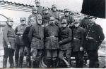 ochotnicza straż pożarna z sąsiedniego Hermsdorf (obecnie Pogranicznyj), ok. 1920 r.