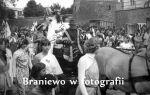 zdjęcie zrobione podczas III Piwowarów Braniewskich w dniach 24-25.05.1980 r. Widoczne poziom piwnicy i parteru Baszty Prochowej. Wówczas należała do Koła Łowieckiego Mewa. Zdjęcie ze strony Braniewo w fotografii