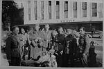 niemieccy żołnierze ze składu 61 dywizji piechoty w zdobytym Tallinnie w dniu 29.08.1941 r.