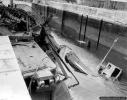zatopiony holownik w arsenale