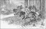 zmorą Warmii i podróżujących kupców byli tzw. Raubritter (rycerze-rabusie), którzy chronieni przez Krzyżaków zwłaszcza w XVI w. napadali na tereny Warmii po czym z łupem uchodzili na stronę krzyżacką