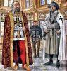 Wielki mistrz, półbrat i brat – rycerz na zamku z XV w. Ilustracja Marek Szyszko