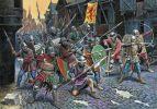 tak to mogło wyglądać w Braniewie... atak zbrojnych na ulicach miasta w okresie średniowiecza