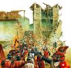 tak to mogło wyglądać w Braniewie... atak zbrojnych na zamek