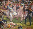 francuski 57 pułk piechoty liniowej Le Terrible w walce. Jedna z jednostek będąca przeciwnikiem Józefa Sowińskiego w jego ostatniej walce w 1807r.