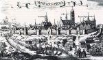 Panorama Braniewa autorstwa Krzysztofa Hartknocha (1641-1687) z 1684 r. Panorama Hartknocha mimo pozytywnych wrażeń estetycznych, w żaden sposób nie wytrzymuje porównania z działem Stertzla, gdyż jest nie tylko niedokładna, ale i częściowo nieprawdziwa. Jest to druga najbardziej znana panorama Braniewa