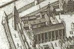 kościół jezuicki, wcześniej franciszkański powstał w XIV w. w stylu gotyckim. Kościół pw. Najświętszej Marii Panny, zwany też Mariackim został rozebrany przez władze pruskie w 1809 r. a jego cenne wyposażenie sprzedano do innych kościołów. Znajdował się obecnym parkingu na terenie Zespołu Szkól Zawodowych.