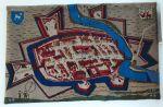 gobelin utkany na wzór planu Stertzla z 1635 r. znajduje się w sali obrad Rady Miasta Braniewa