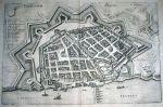 Toruń 1652. Efektwony widok miasta Torunia z lotu ptaka ze słynnego dzieła