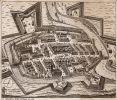 ta wersja planu Braniewa z 1635 r. jest dość znana, jednak w stosunku do oryginału jest obcięta
