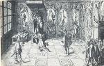 Tak mogło wyglądac przyjęcie braniewskich burmistrzów. Na ilustracji Gustaw Adolf przyjmujący posłów holenderskich