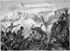 1863. Atak Maorysów na osadę Rangiriri. Thomas ok. 1880-1890