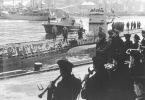 U-bot typu VIIC wypływa na patrol