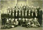 1934. Zdjęcie klasy Siegfrieda Strauba z pierwszej komunii ewangelickiej (Konfirmanden). Trudno jednak stwierdzić, który z tych chłopców to Straub.