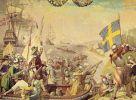 Tak to mogło wyglądać. Desant Szwedów podczas tzw. wojny kalmarskiej 1611-1613. Autor Karl van Mandern