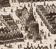 Pochodzący z XIV wieku ratusz staromiejski  był niewielkim budynkiem w stylu gotyckim. Został przebudowany kilkadziesiąt lat po śmierci burmistrza Szymona Wichmanna. Podczas szwedzkiej okupacji 1626-1635 ratusz zajmowany był przez garnizon szwedzki.
