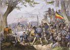 W dniu 20.04.1848r. dowodzona przez Karla Kaisera i Augusta Willicha armia powstańcza zostaje okrążona i pokonana w bitwie pod Kadern.