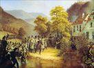 Bitwa pod Gernsbach am 29.06.1849. Autor Franz Stirnbrand