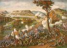Atak na wzgórze Missionary Ridge. Ilustracja Kurz & Allison