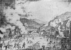 W przegranej bitwie pod Gernsbach w dniu 29.06.1849r. oddział Willicha ulega panice