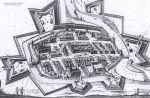 1635. Widok Braniewa autor P.Stertzell.