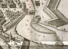 fragment palnu Stertzla z 1635 r. z widocznym wodospadem na Pasłęce, gdzie dziś jest jaz elektrowni wodnej oraz kanał biegnący do dawnego młyna biskupiego, zwanego wielkim młynem miejskim tzw. Amtsmühle