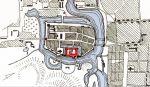 Plan miasta i zamku według J.M. Giese