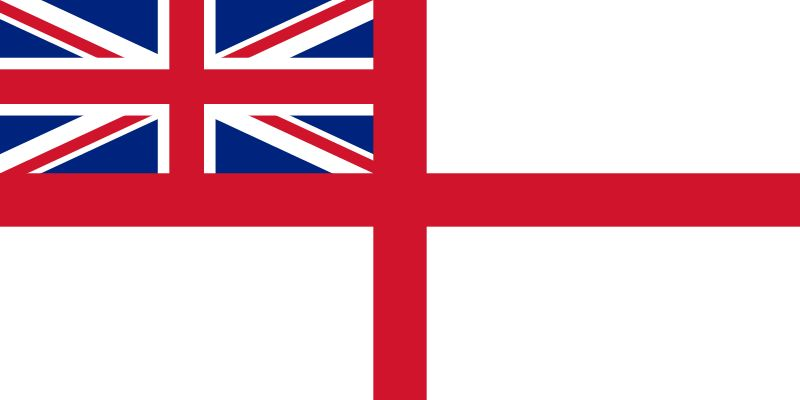 Bandera Royal Navy
